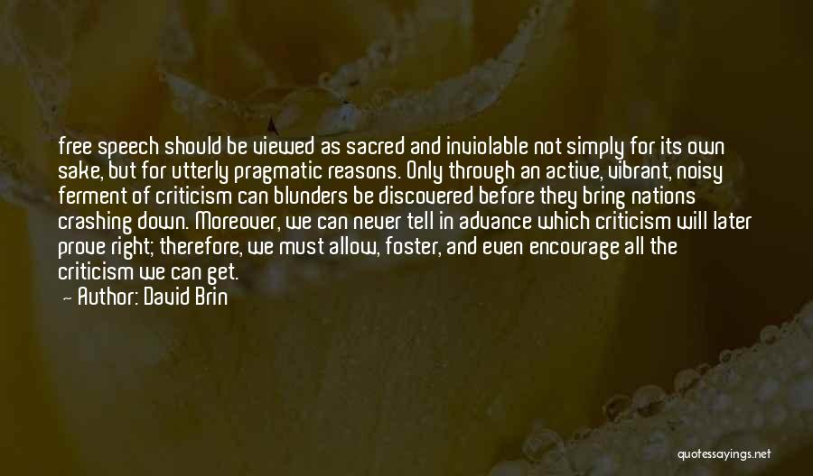 David Brin Quotes 1908657