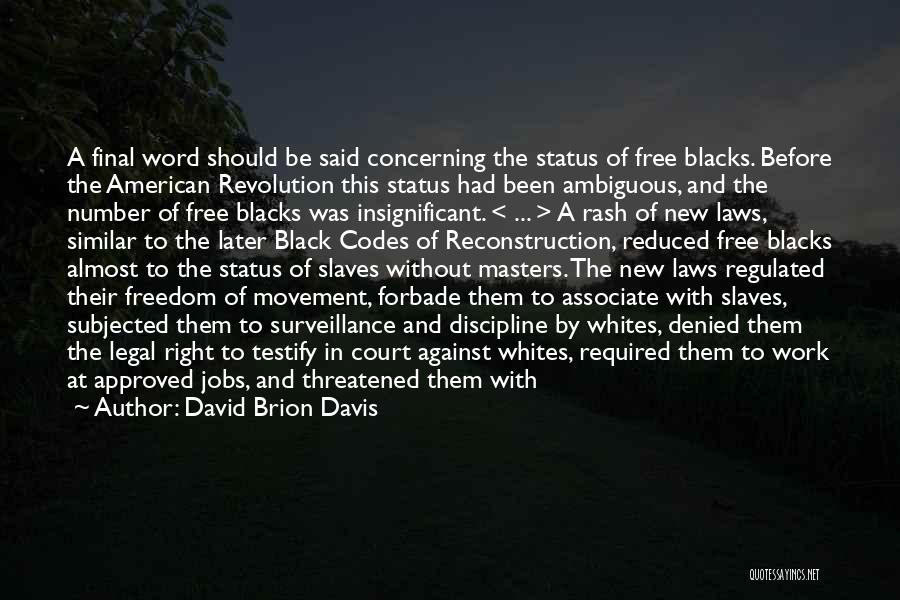 David Brion Davis Quotes 1735413