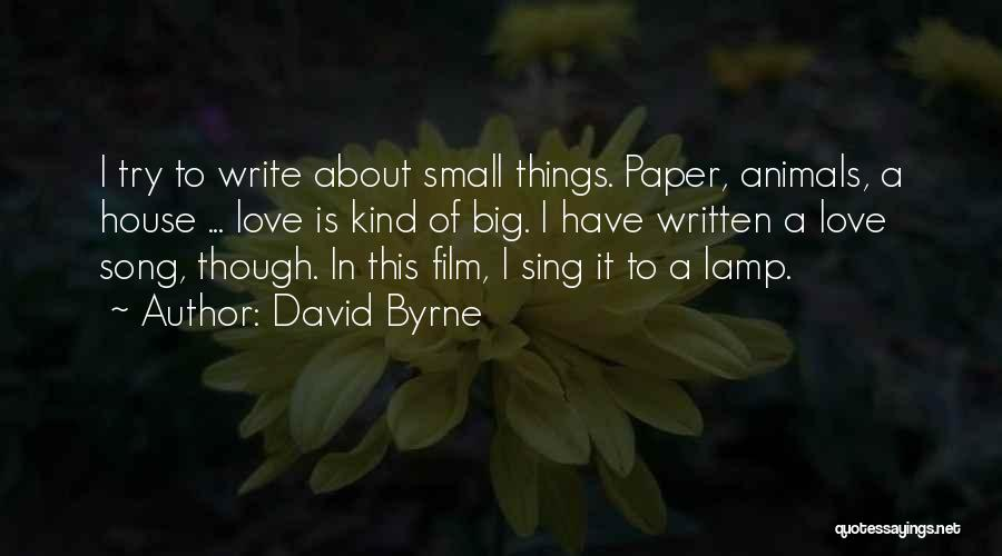 David Byrne Quotes 115962