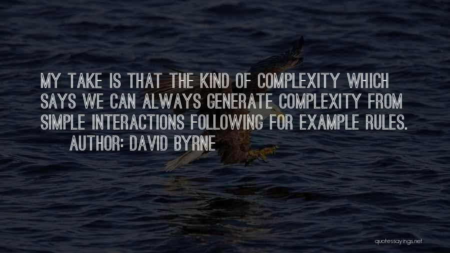 David Byrne Quotes 1855928