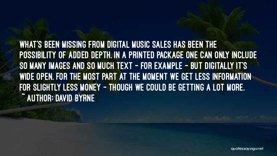 David Byrne Quotes 482916