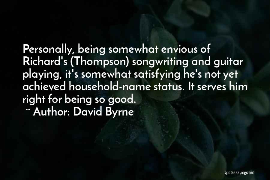 David Byrne Quotes 519012