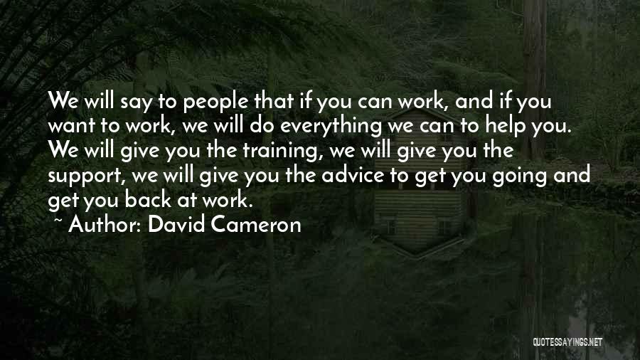 David Cameron Quotes 1234187