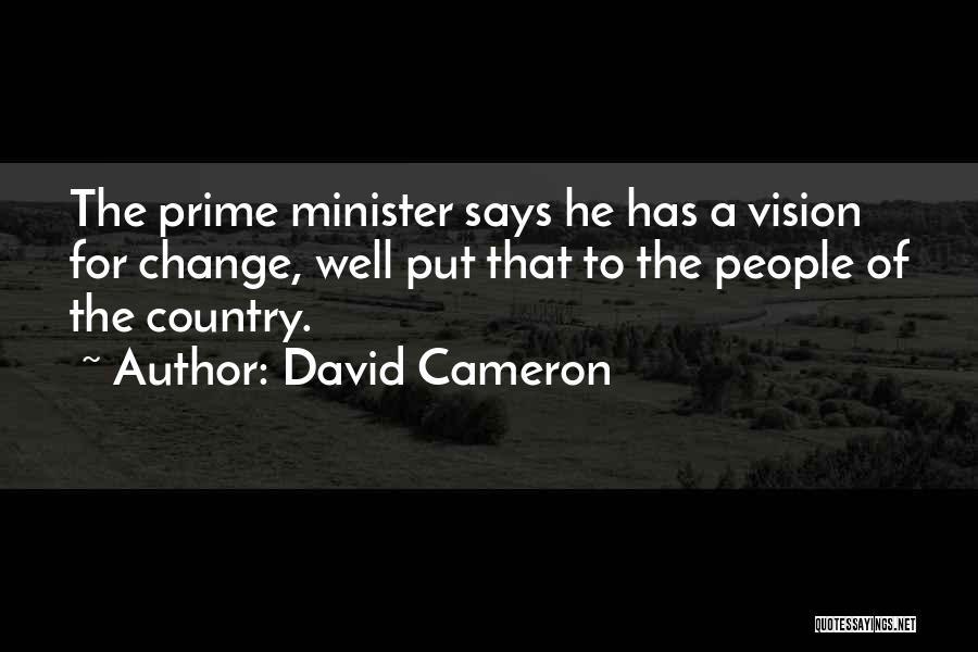 David Cameron Quotes 1702325