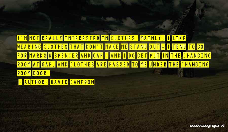 David Cameron Quotes 1765722