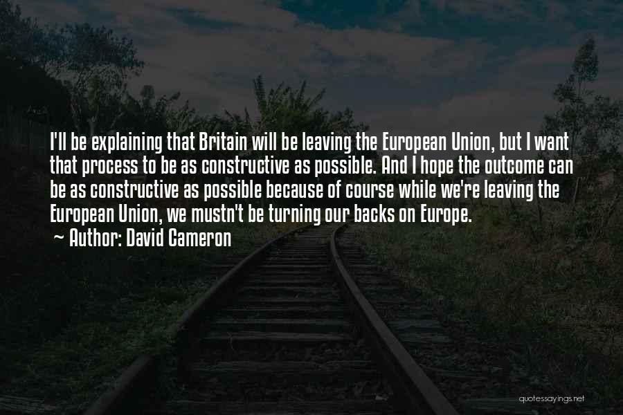David Cameron Quotes 1823765