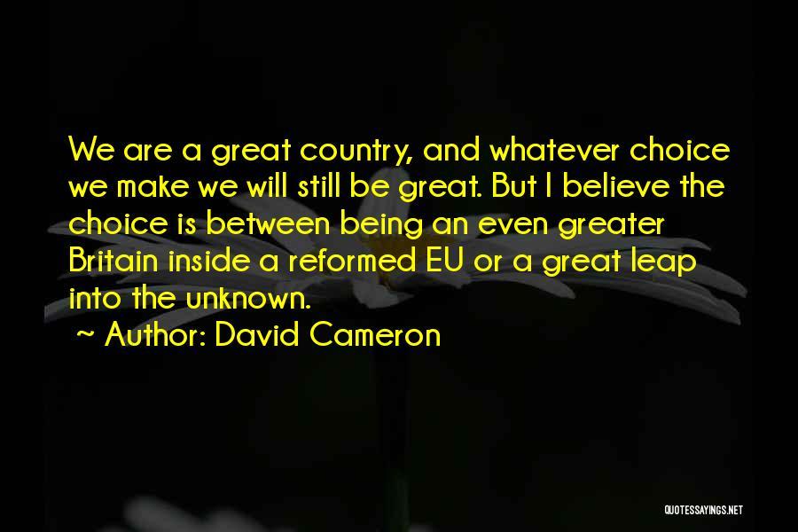David Cameron Quotes 725892