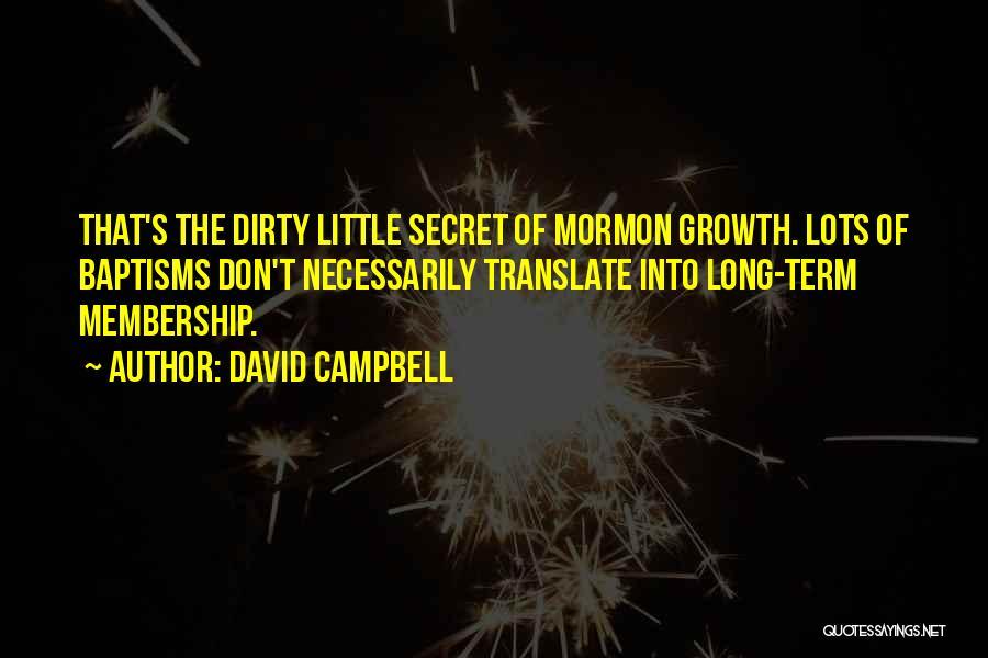 David Campbell Quotes 96435