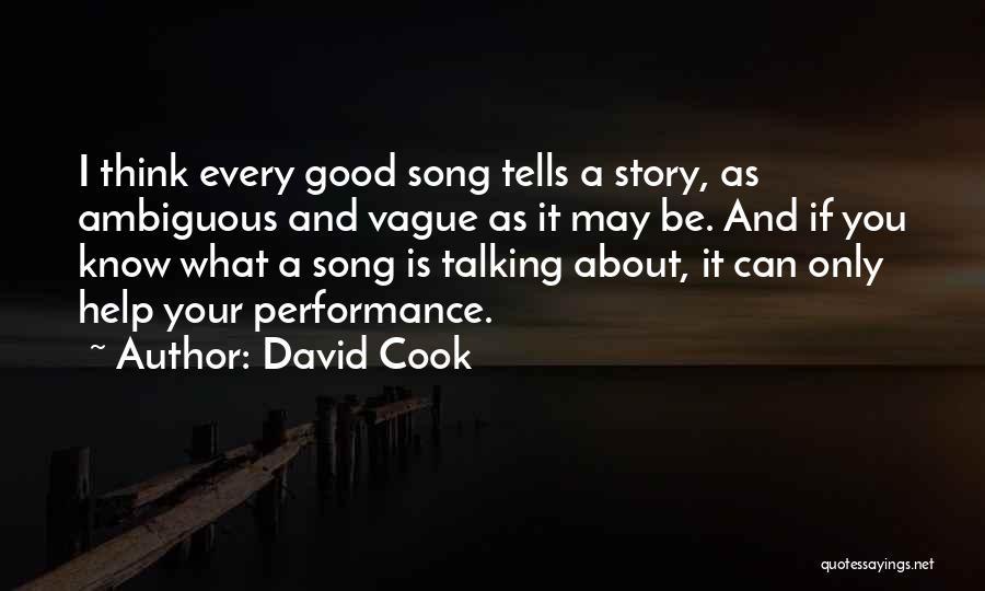 David Cook Quotes 258252