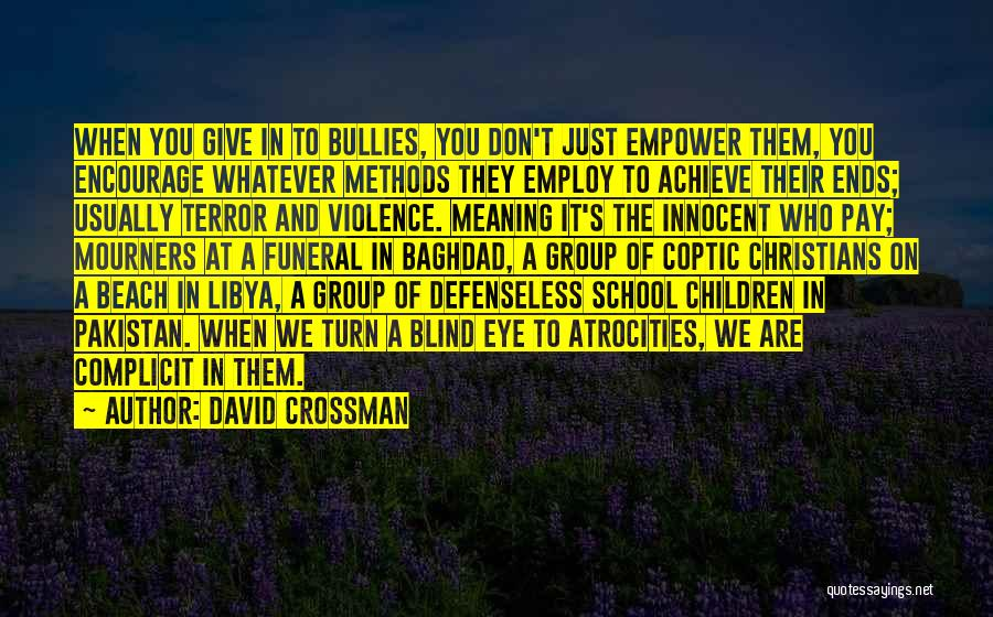 David Crossman Quotes 500704