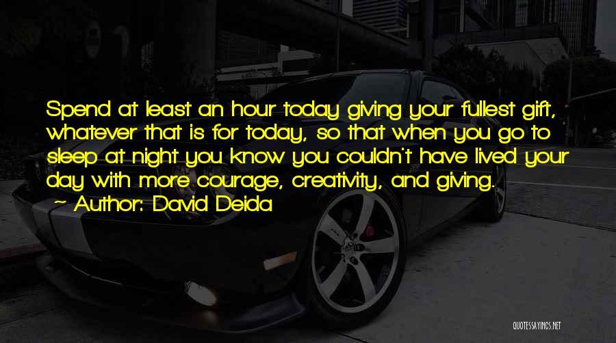 David Deida Quotes 1073548