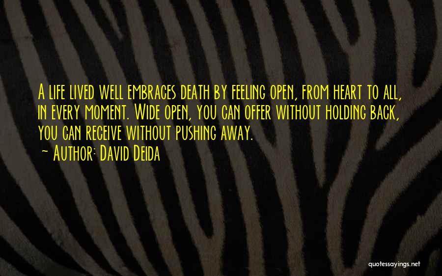 David Deida Quotes 1301500
