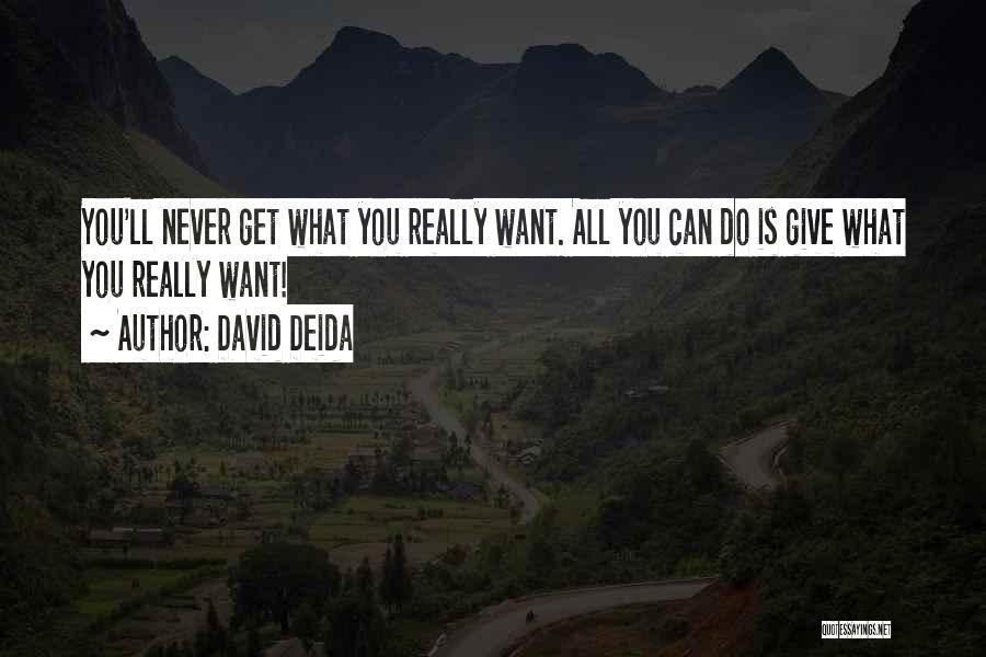 David Deida Quotes 1818499