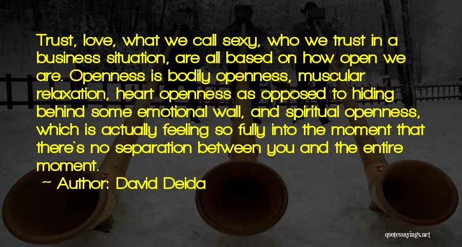 David Deida Quotes 252972