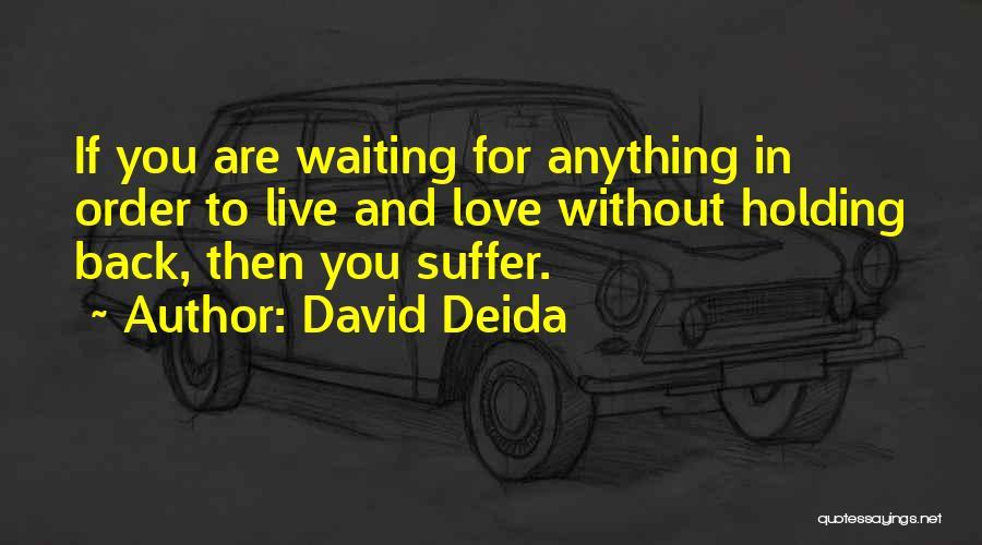 David Deida Quotes 717132