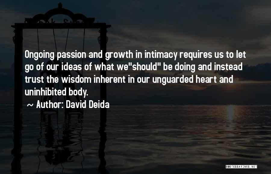 David Deida Quotes 947369