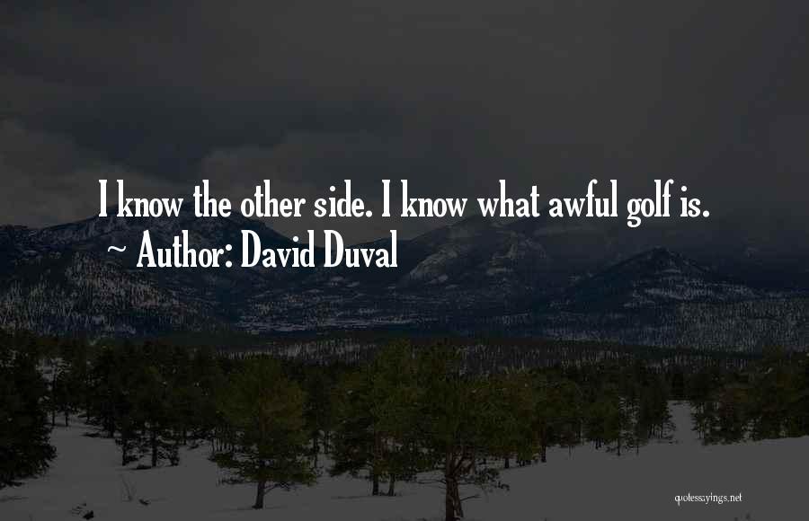 David Duval Quotes 1311361