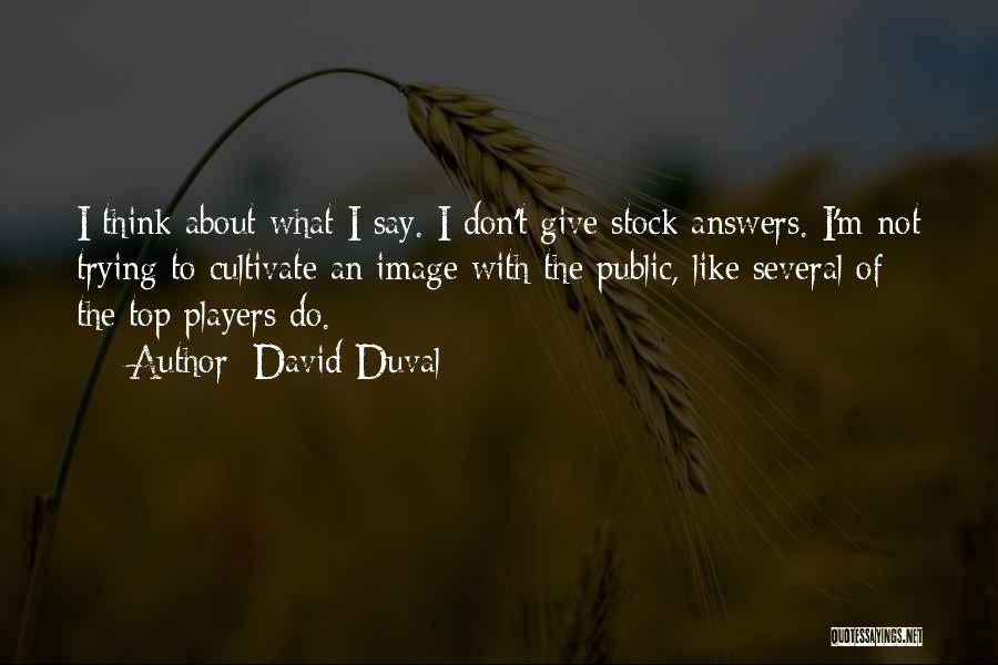 David Duval Quotes 1804417