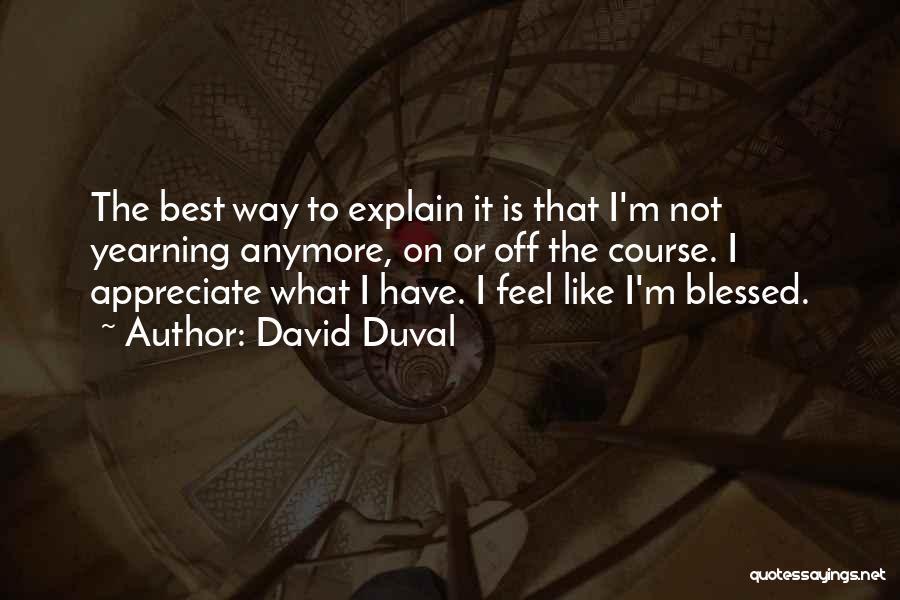 David Duval Quotes 2116599