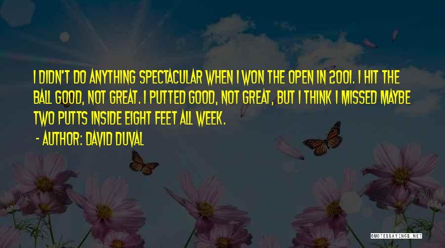 David Duval Quotes 925384