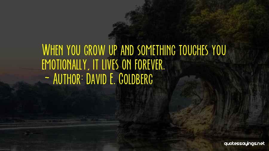David E. Goldberg Quotes 1044501