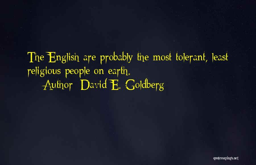 David E. Goldberg Quotes 1846165