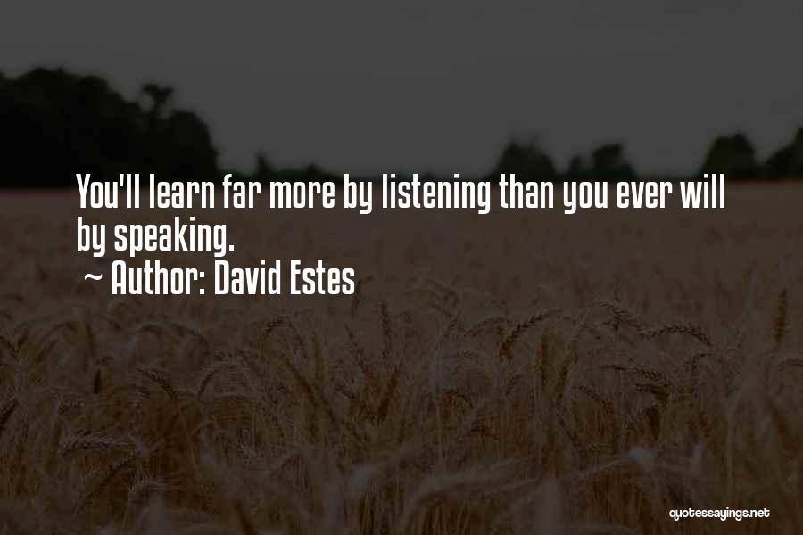David Estes Quotes 1872532