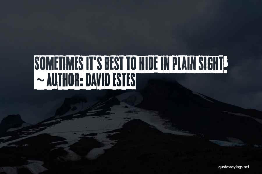 David Estes Quotes 566642