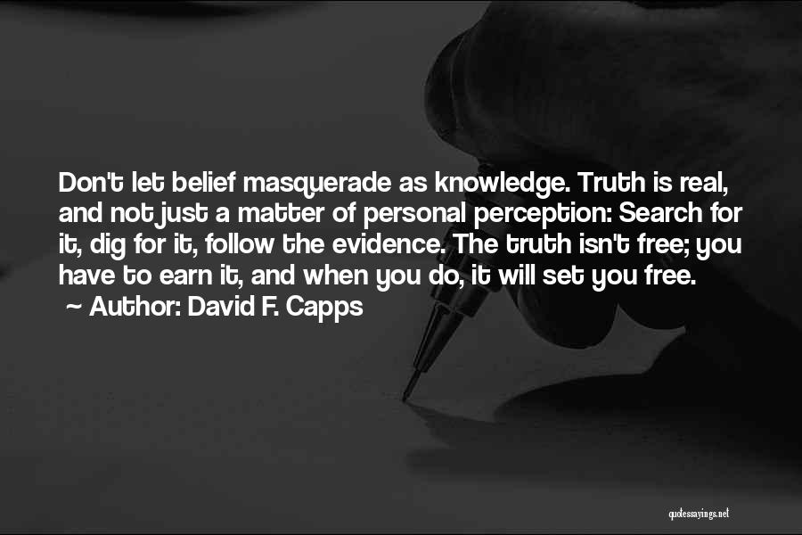 David F. Capps Quotes 1824299