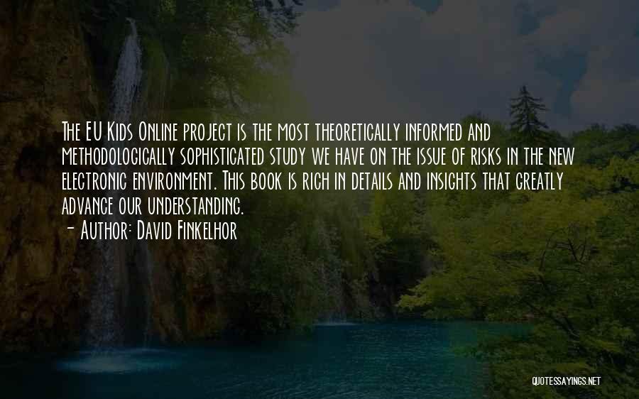 David Finkelhor Quotes 995456