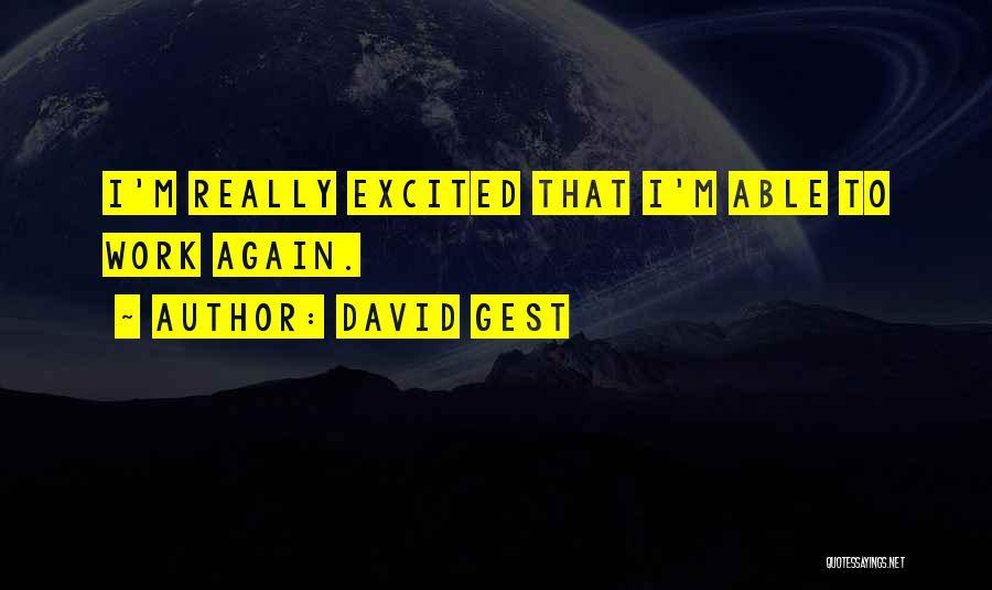 David Gest Quotes 1427187