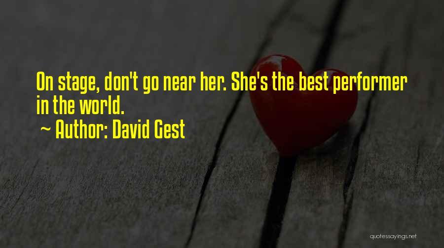 David Gest Quotes 1605359