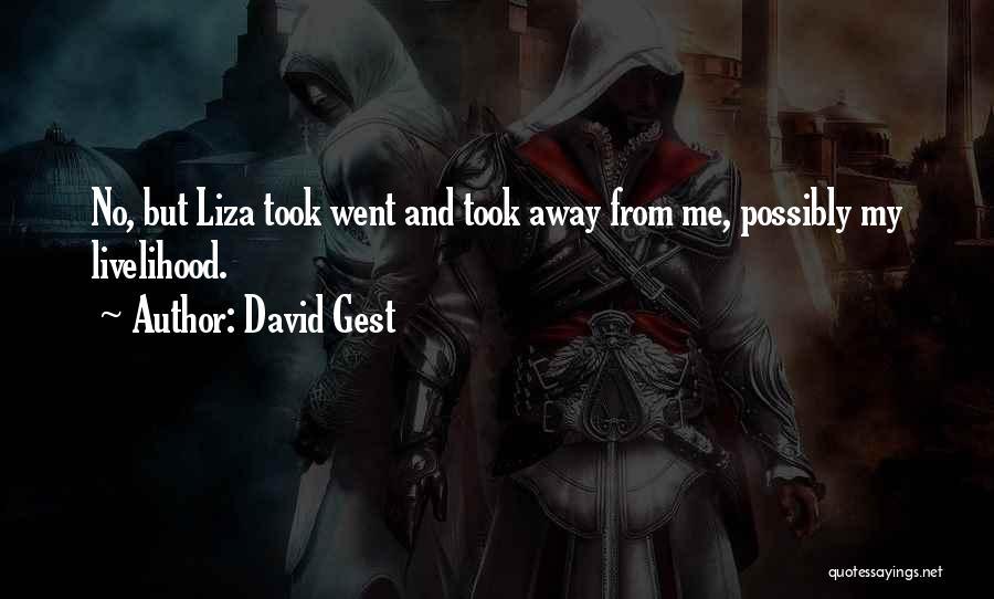 David Gest Quotes 587460
