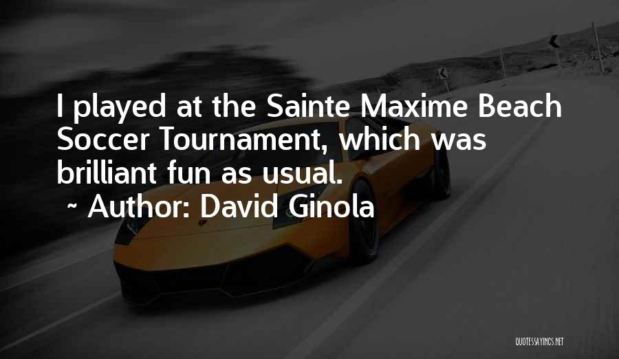 David Ginola Quotes 1987113