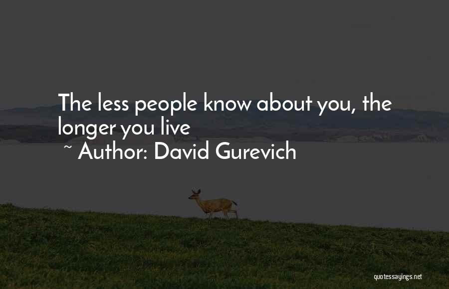 David Gurevich Quotes 2250147