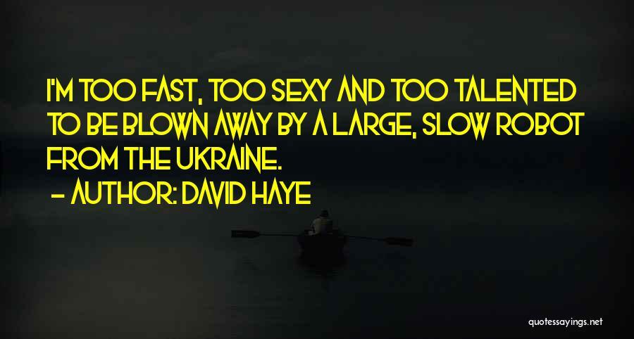 David Haye Quotes 1185791
