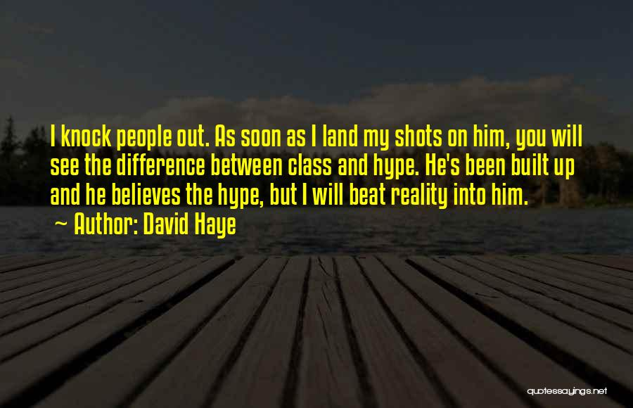 David Haye Quotes 1382517