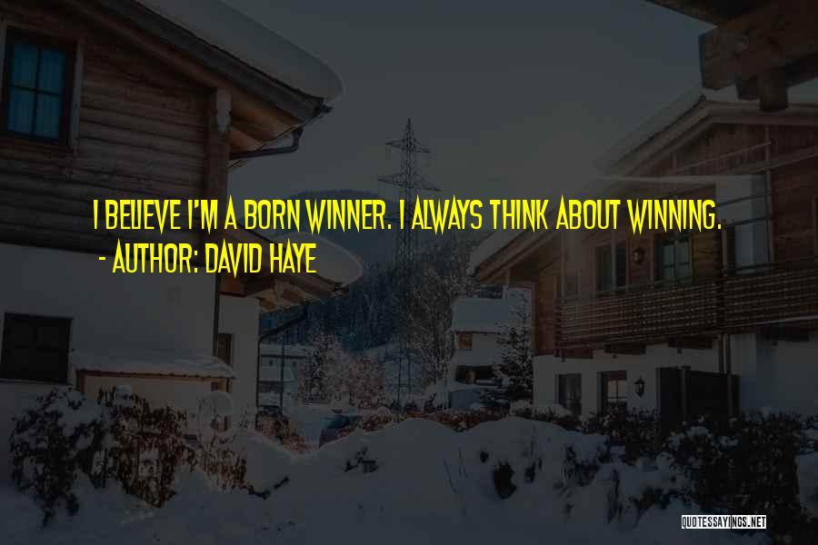David Haye Quotes 512709