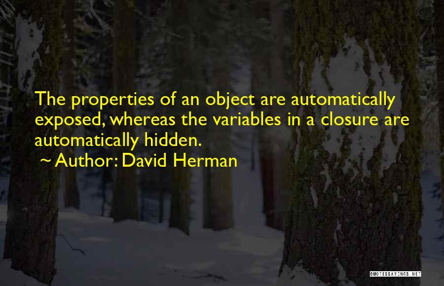 David Herman Quotes 475803