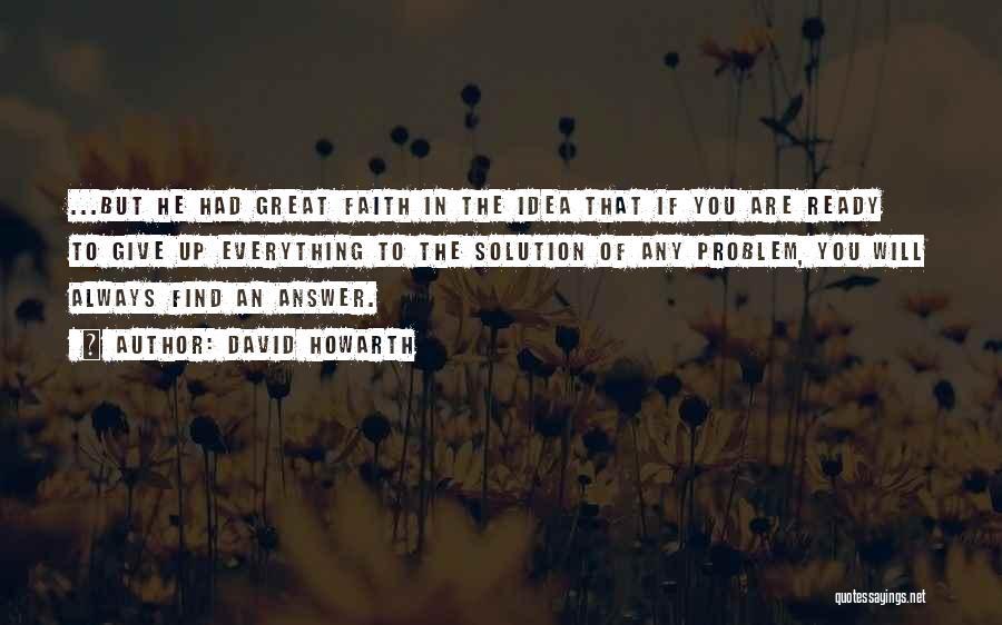 David Howarth Quotes 144637