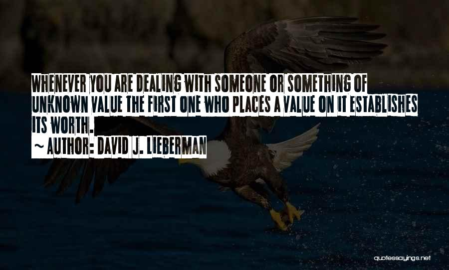 David J. Lieberman Quotes 1321933