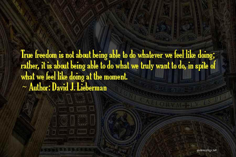 David J. Lieberman Quotes 1609256