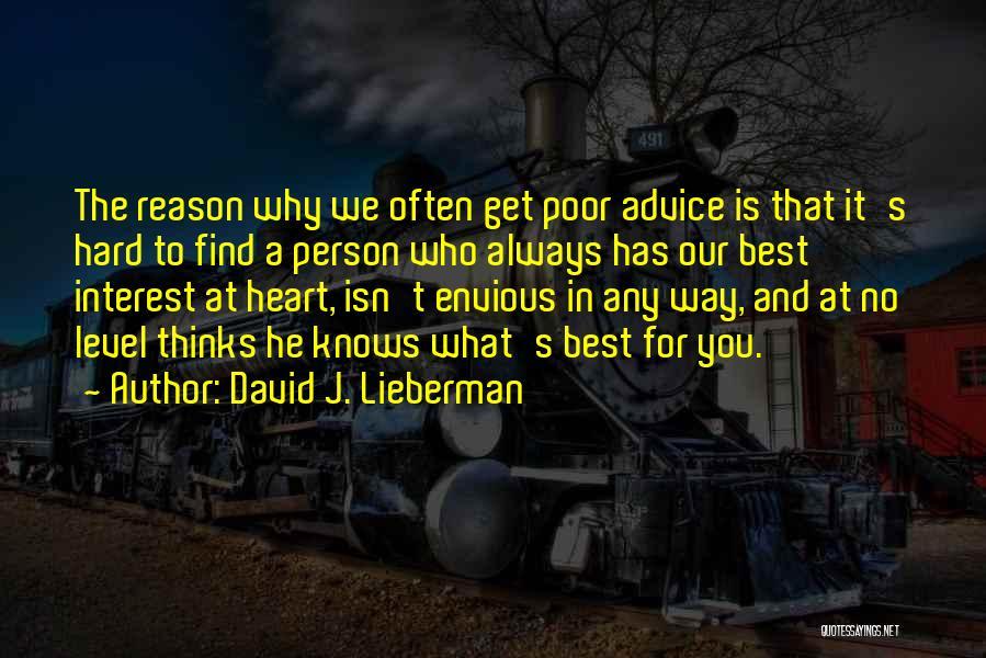 David J. Lieberman Quotes 2227944