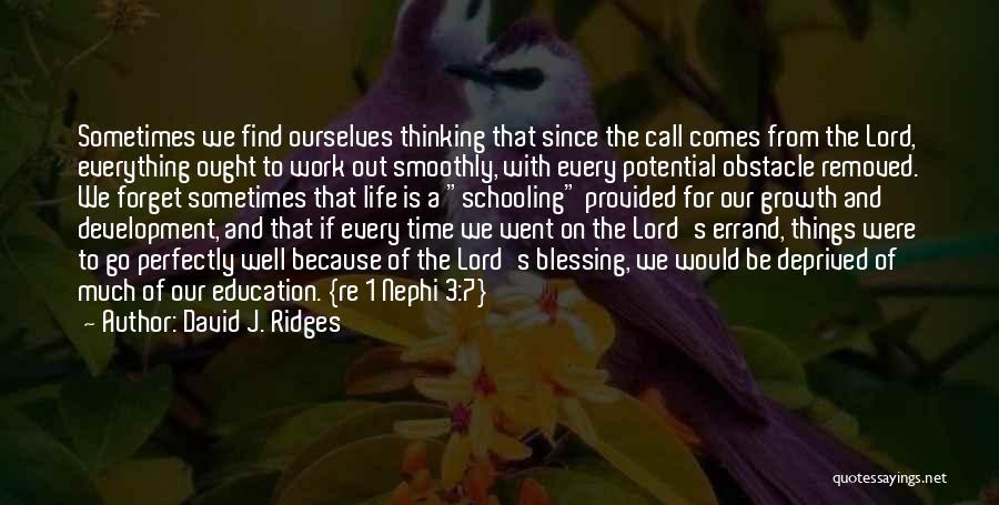 David J. Ridges Quotes 406305