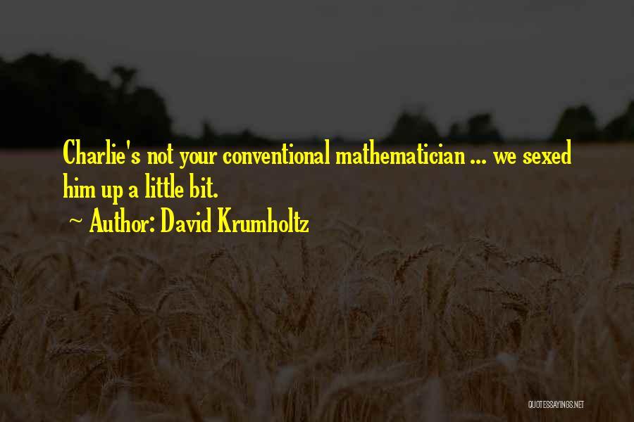 David Krumholtz Quotes 877709
