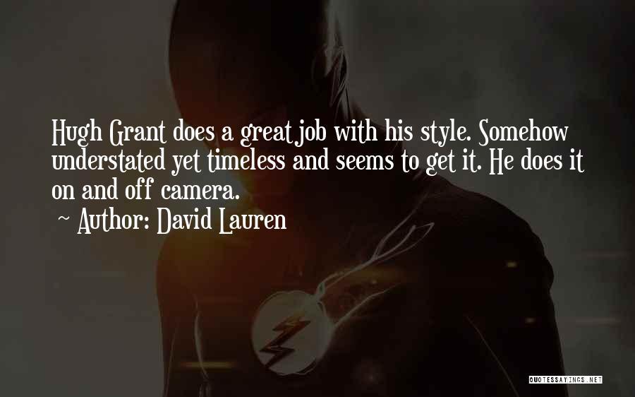 David Lauren Quotes 1769589