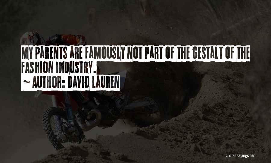 David Lauren Quotes 239619