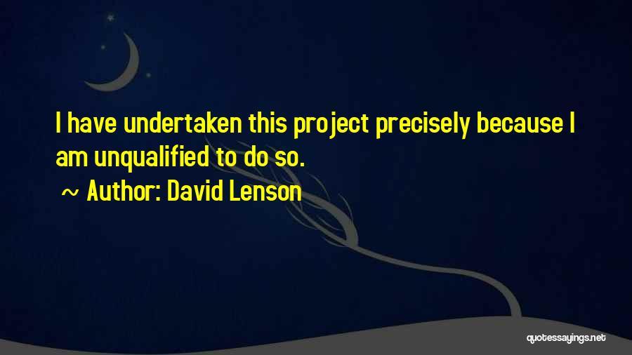 David Lenson Quotes 2225655
