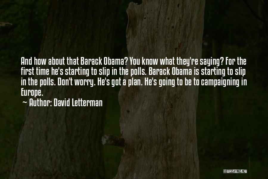 David Letterman Quotes 1039700