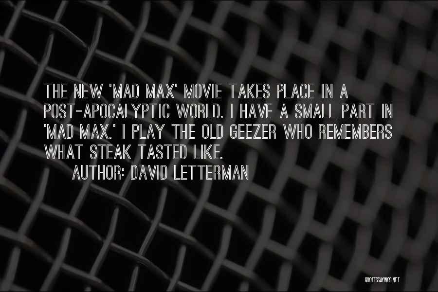 David Letterman Quotes 1339056